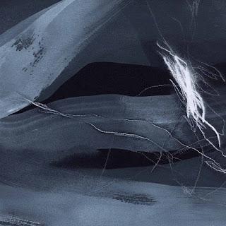 20 x 20 cm acrylique et crayon sur papier Arches noir, 25 jan 15
