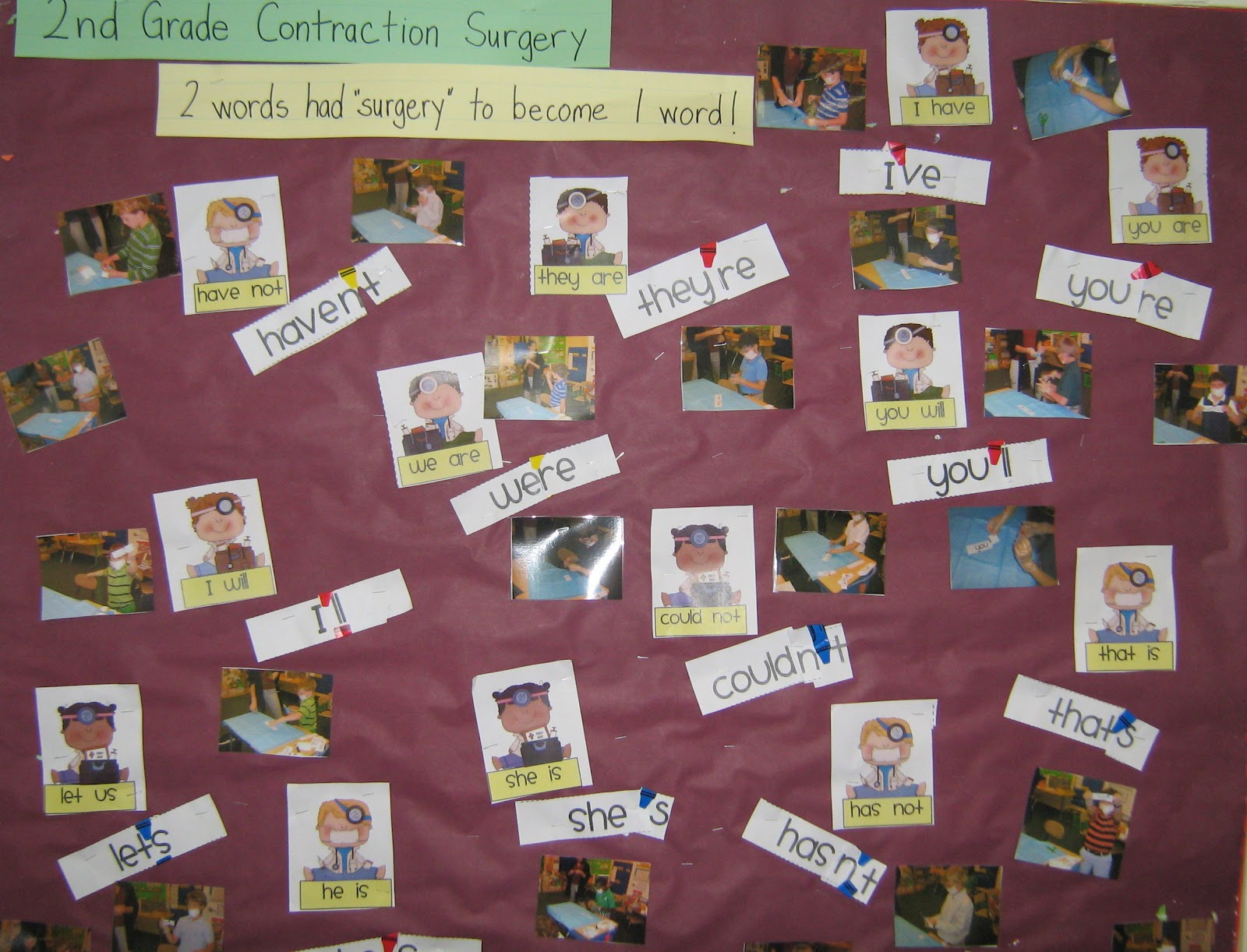 Kinderaffe Kindergarten Contraction Surgery