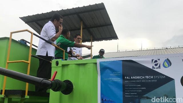 Sandiaga Uno Diledekin Terus Menerus Soal Idenya Beli 200 Alat Pengolahan Tinja Jadi Air Minum, PD PAL Jaya Akhirnya Buka Mulut
