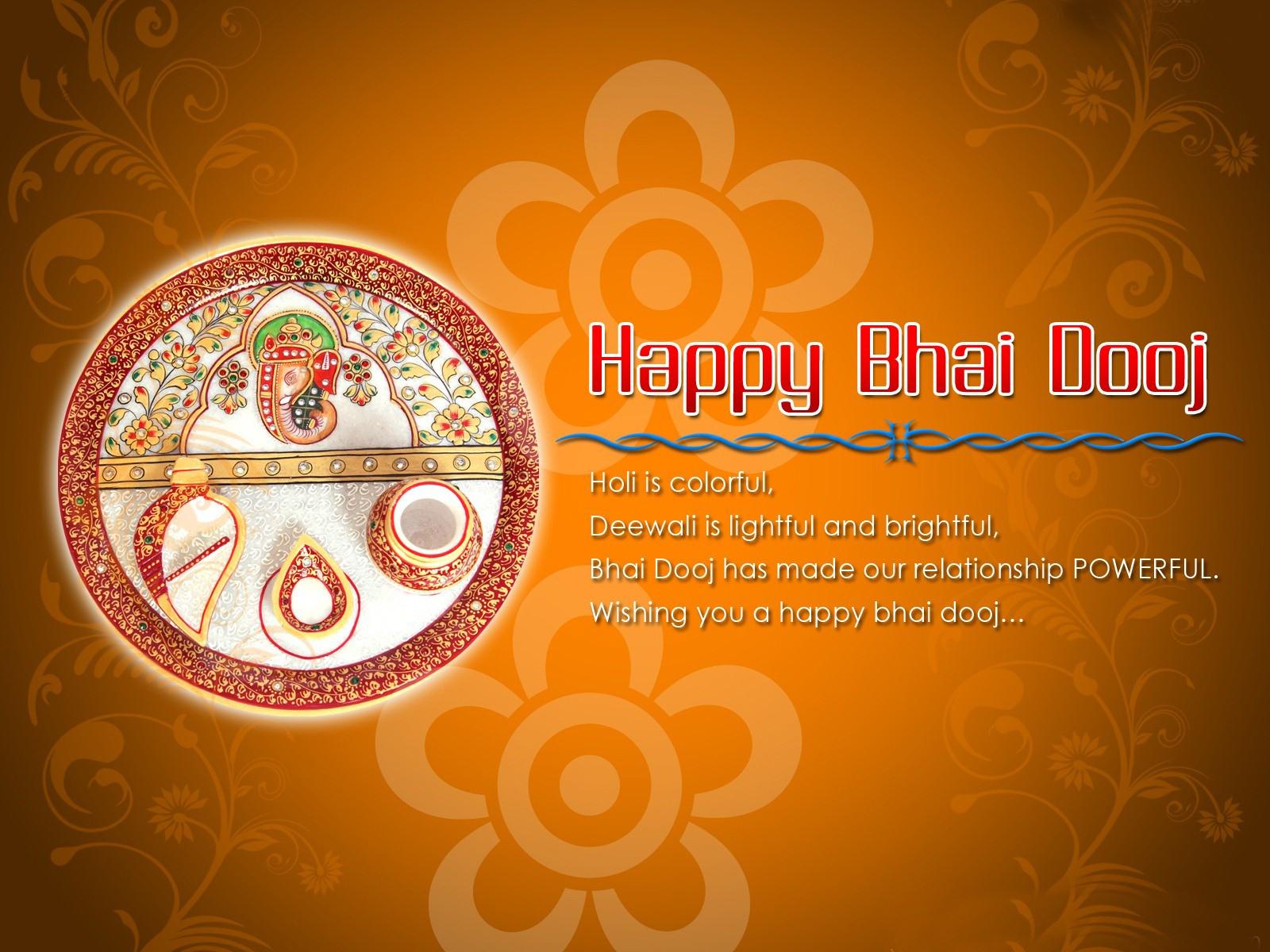 Happy Bhai Dooj Pictures Holi Celebration Bhai Duj