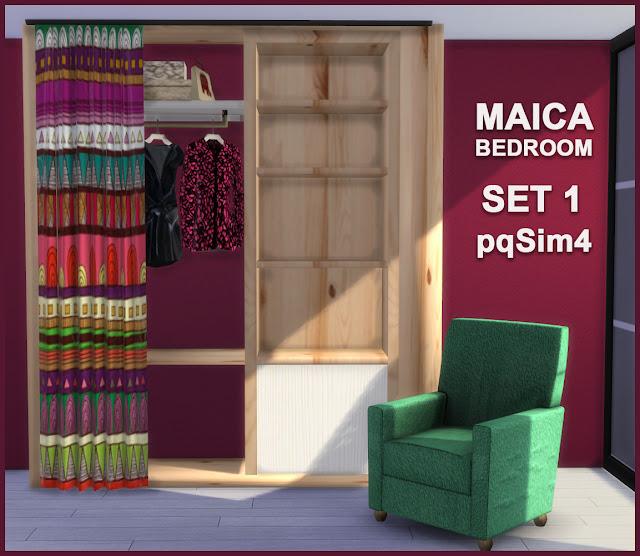 Armario y sillón Maica 13