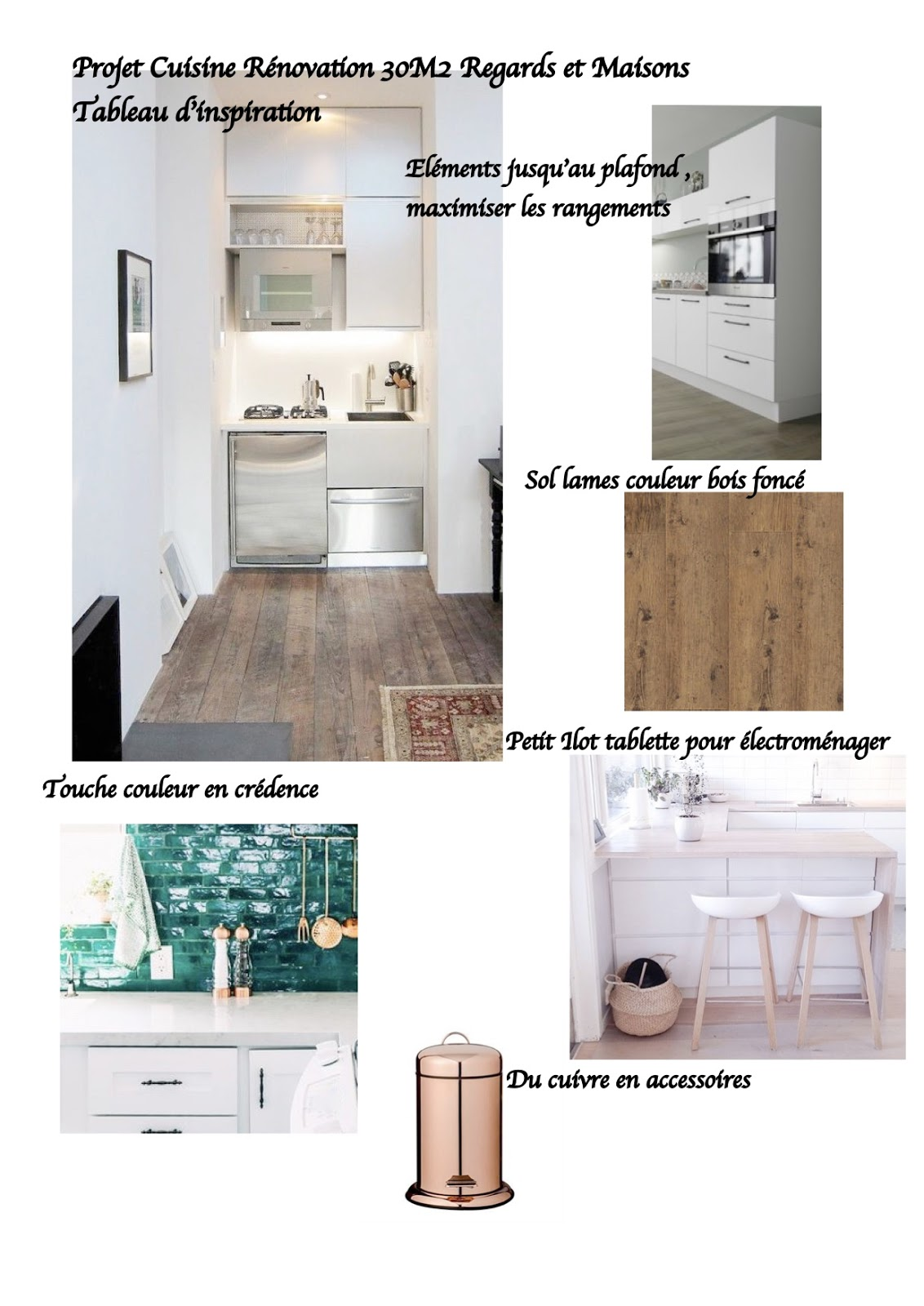 regardsetmaisons r novation mon projet cuisine petit budget pour petit espace. Black Bedroom Furniture Sets. Home Design Ideas