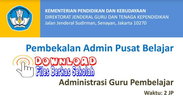 Download Administrasi Guru Pembelajar Format PDF untuk Mentor dan IN