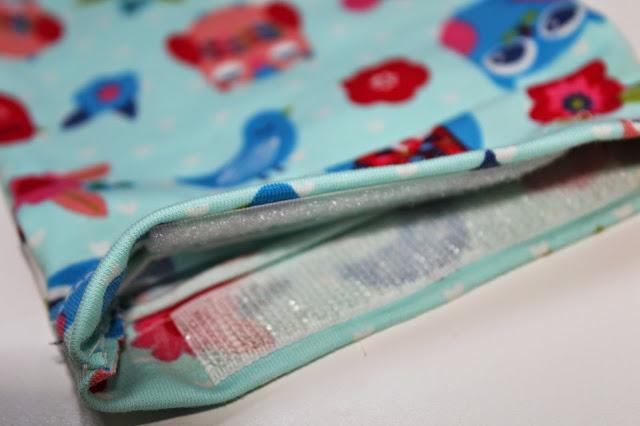 bolsa tela infantil DIY