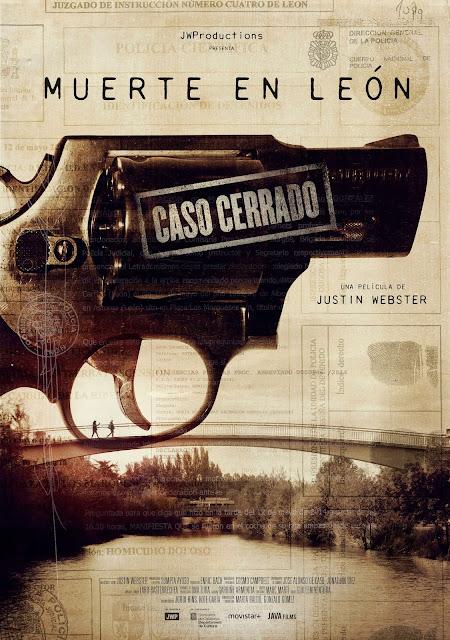 Muerte en León, Caso Cerrado, HBO España, póster