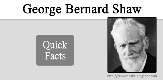 George Bernard Shaw Quick Facts