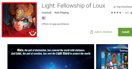 Light: Fellowship of Loux soft-launches new mobile RPG