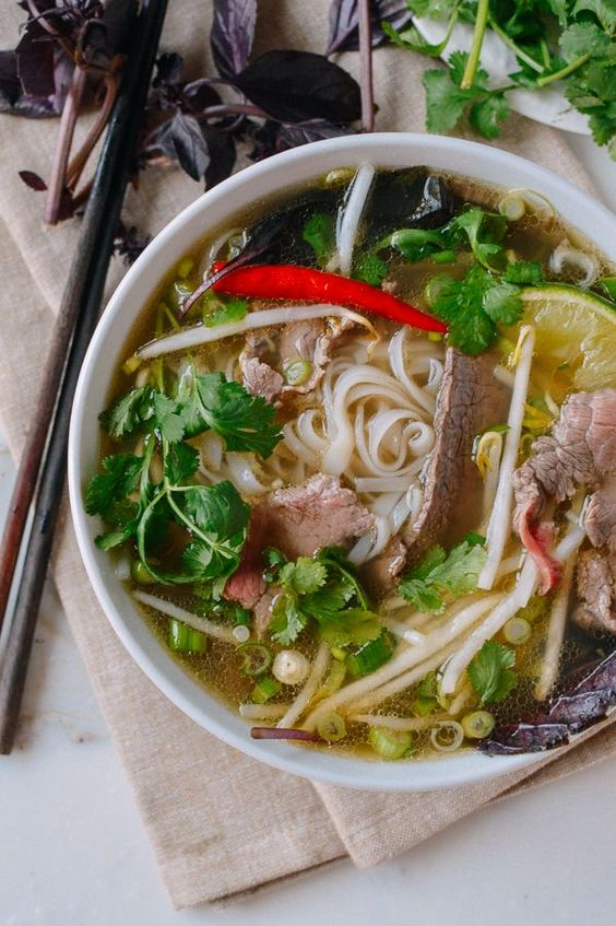 Pho has long been one of my absolute favorite things to eat. There has been more than one occasion in which I have actually gotten in my car and driven over 45 minutes for the express purpose of indulging in good bowl of the stuff, which is why this pho recipe is sorely needed.