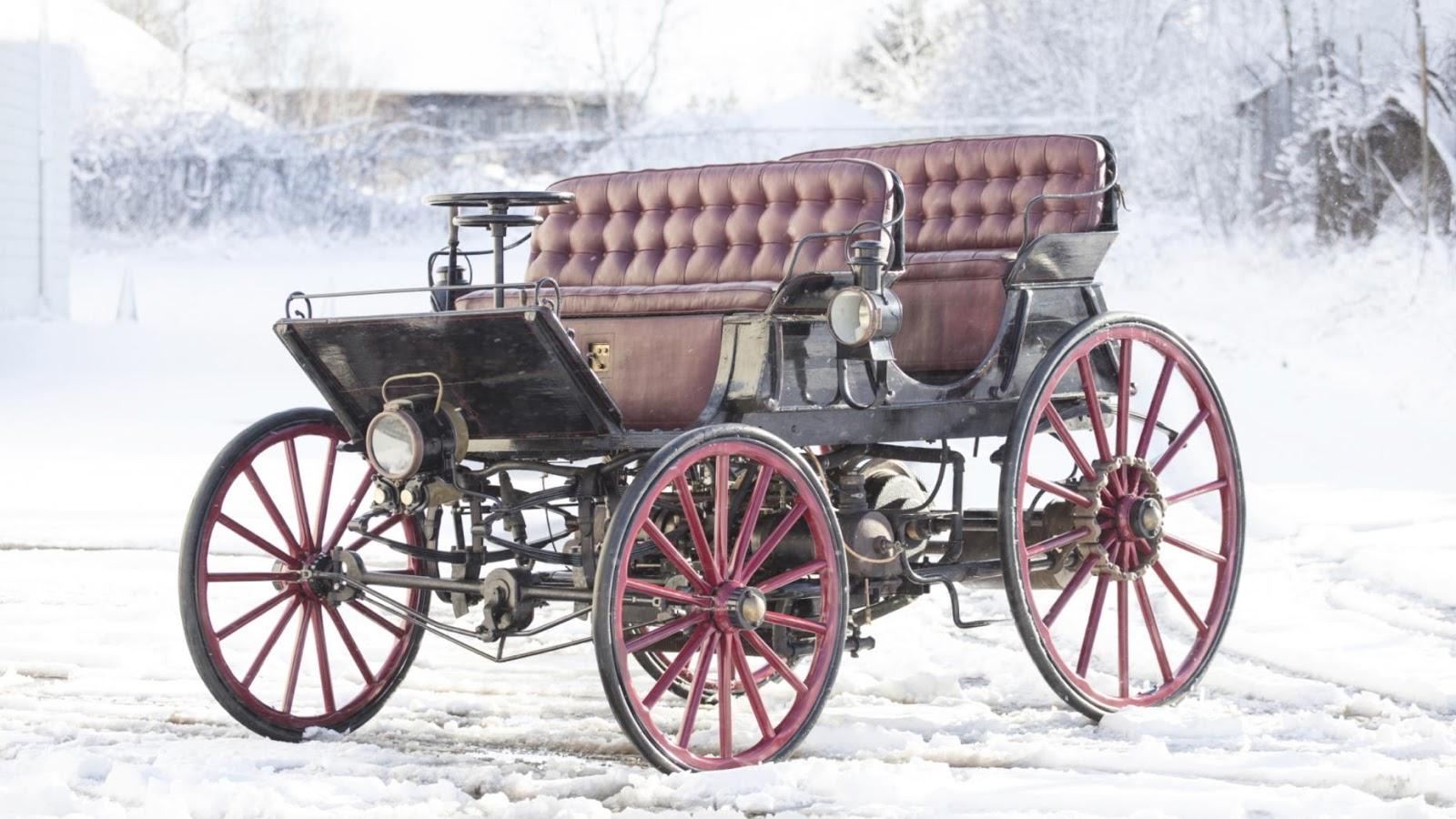 1896 Armstrong Phaeton Gasoline Electric Hybrid: $483,400
