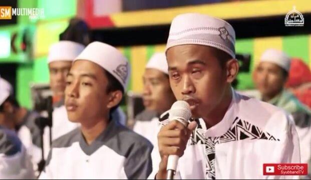 "Lirik Teks Sholawat ""Assubhubada"" Syubbanul Muslimin Vocal Gus Amsori"