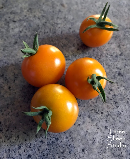 Sun Sugar Yellow Cherry Tomatoes