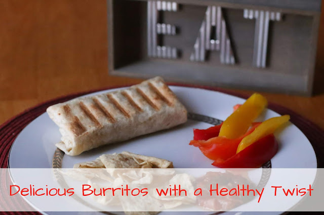 Delicious Burritos with a Healthy Twist