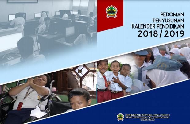 Kalender Pendidikan 2018/ 2019 Jawa Tengah