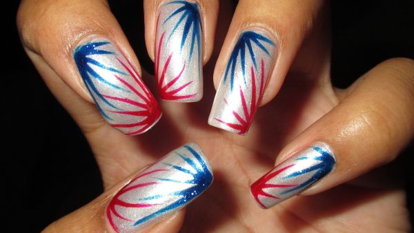 Memorial Day 2017 Nail Arts Designs Ideas Images Pictures & Wallpapers