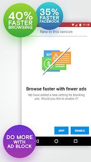 Opera Mini Apk for Android Terbaru v18.0.2254.106200 - Browsing 40% Lebih Cepat