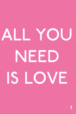 Pink all you need is love