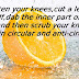To Lighten your knees