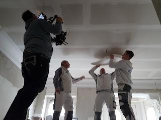 Stuckbaustelle Belz Bonn Aufnahmen zum Film Stuck aus Leidenschaft