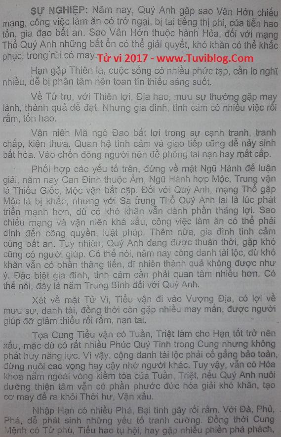 Xem tuoi Binh Thin 1976 nam 2017