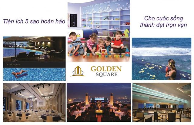 Hệ thống tiện ích chung cư Golden Square