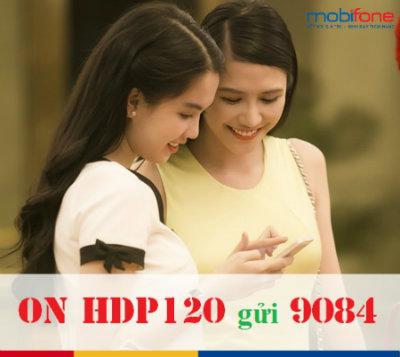 gói cước HDP120 Mobifone