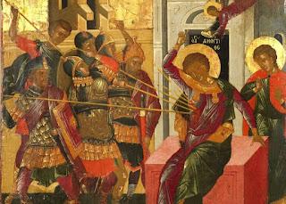 Martyrdom of St. Demetrios