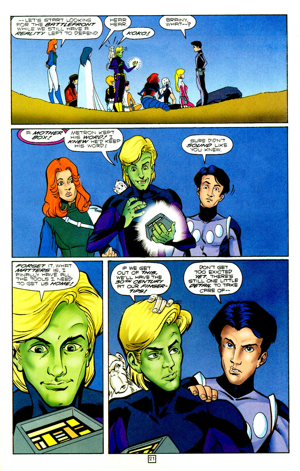 Legion of Super-Heroes (1989) 97 Page 20