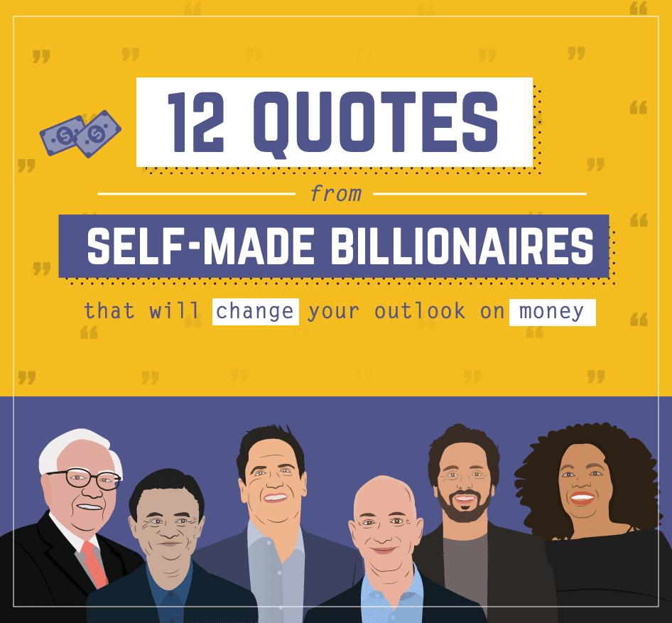 12 Money Quotes That Will Inspire You - infographic