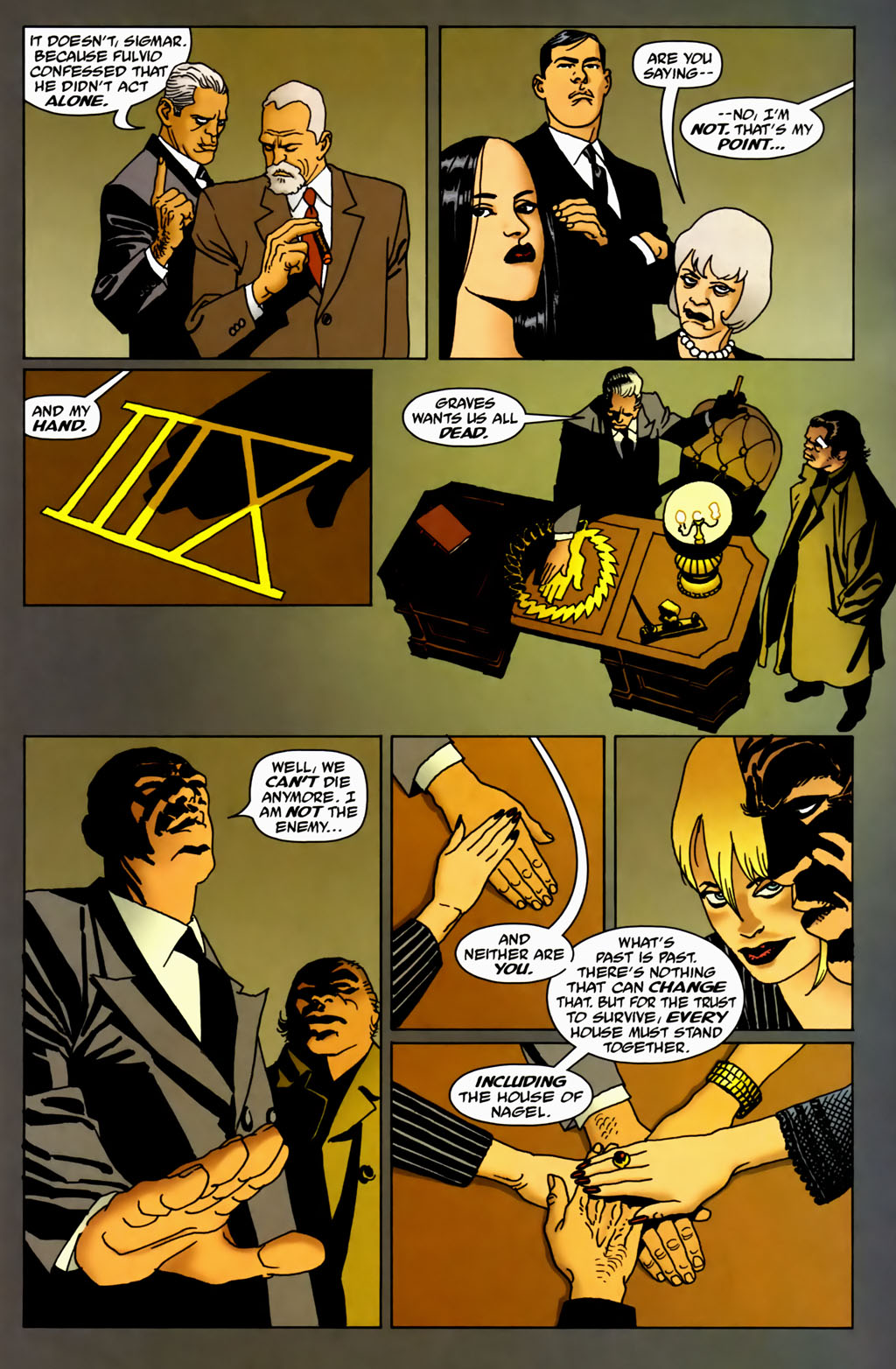 Read online 100 Bullets comic -  Issue #70 - 19