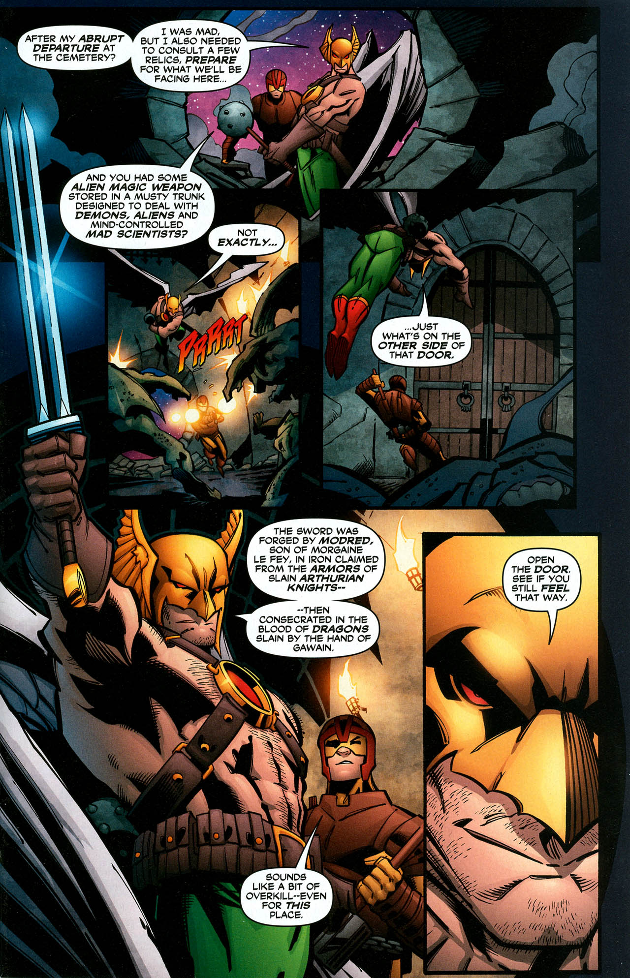 Read online Trinity (2008) comic -  Issue #15 - 29