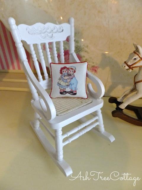 Ash Tree Cottage Dollhouse Miniature Baby Nursery