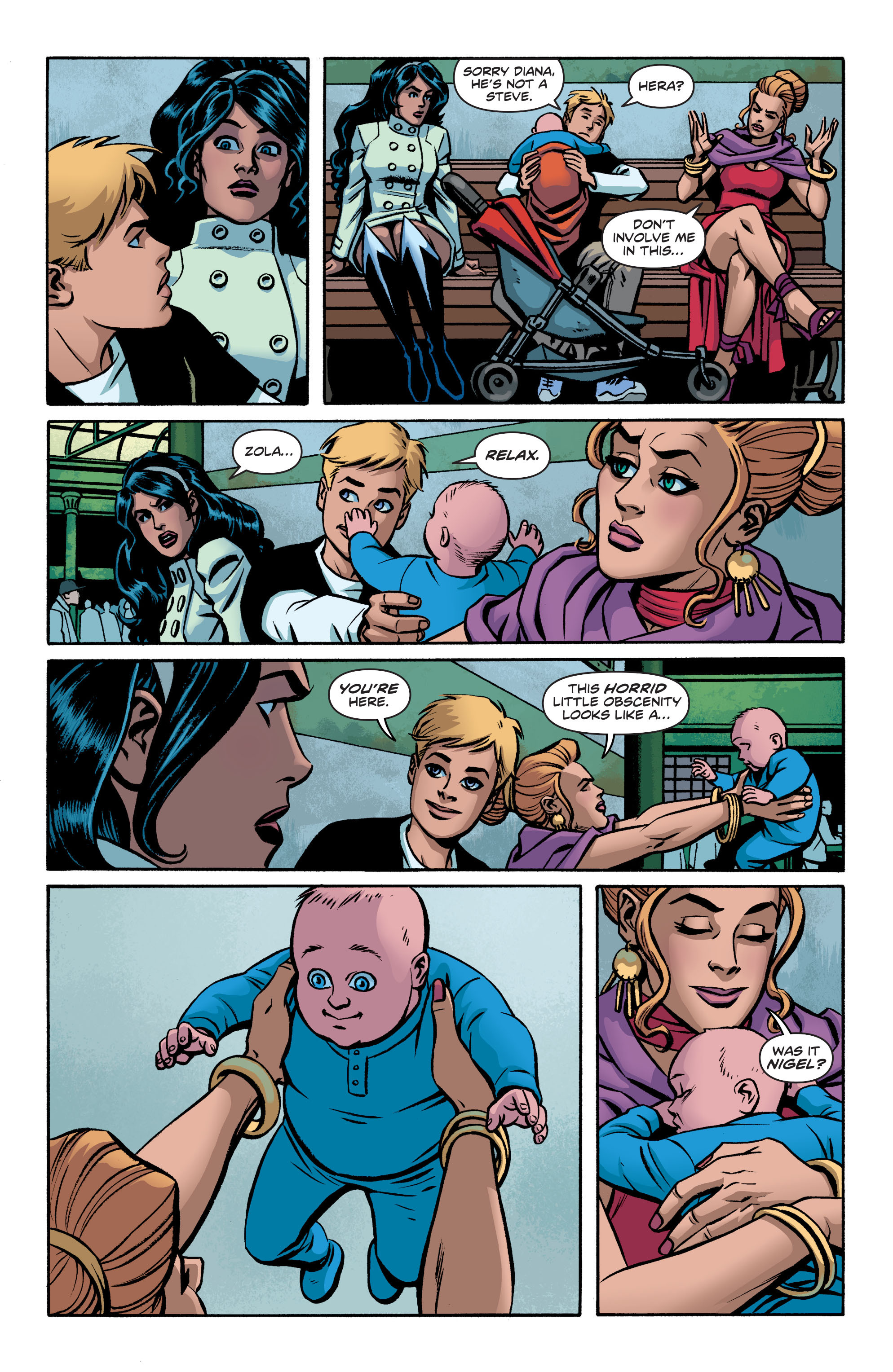 Read online Wonder Woman (2011) comic -  Issue #19 - 7