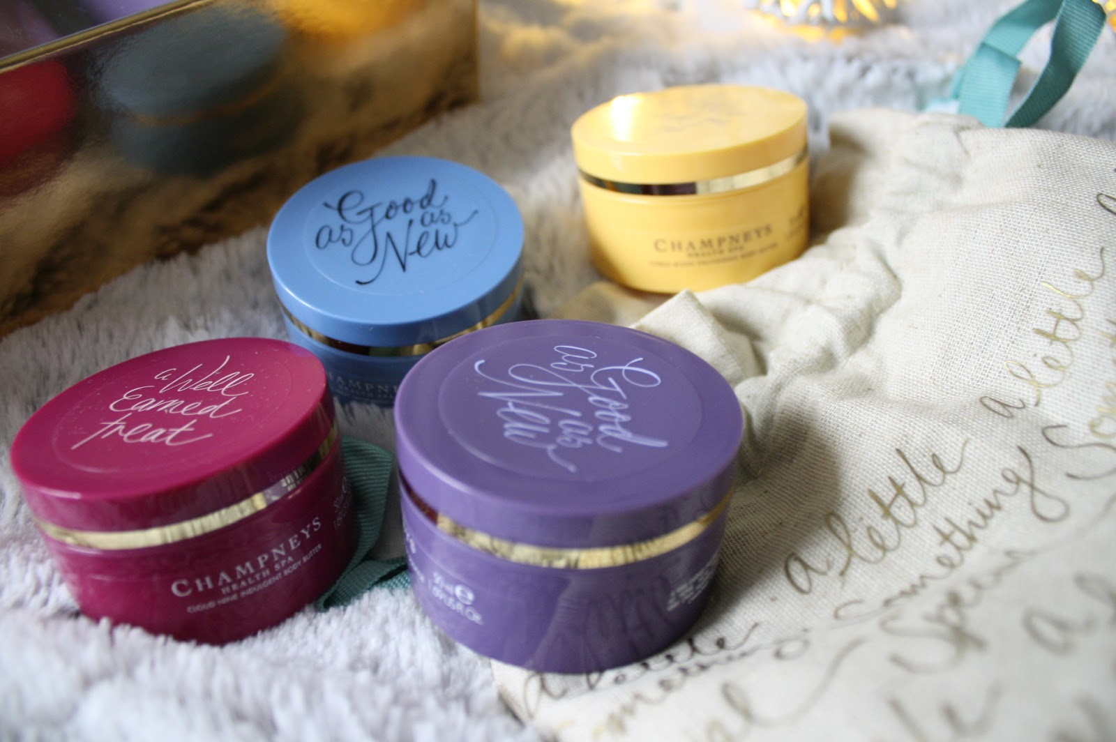 Champneys Body Butters