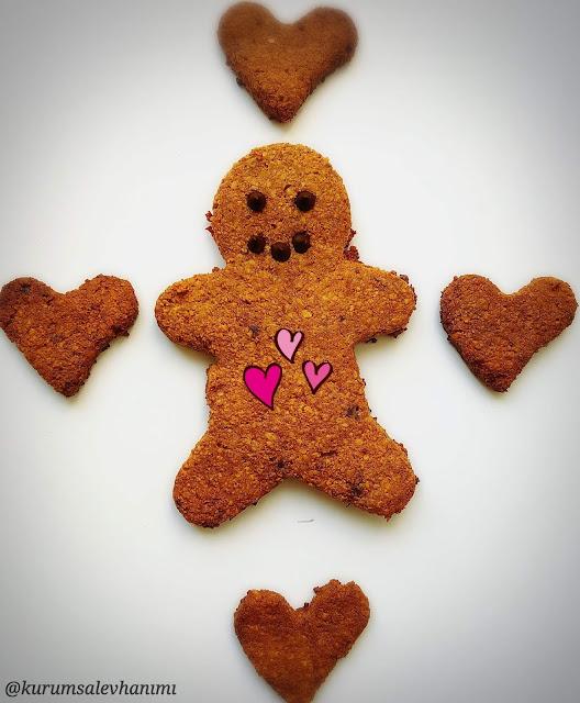 şekersiz kurabiye