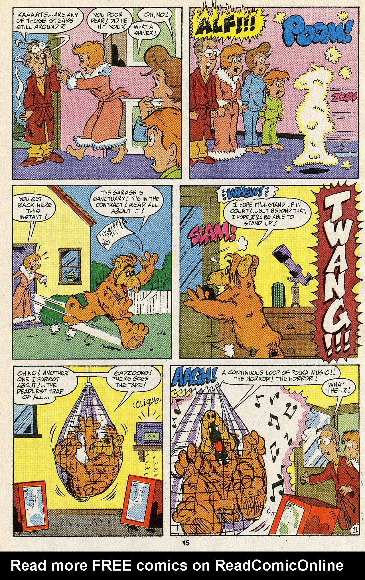 Read online ALF comic -  Issue #43 - 17