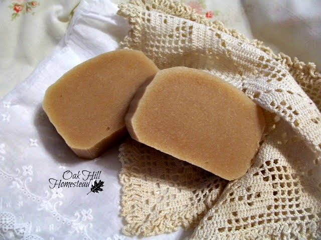 Cold-processed goat milk soap makes wonderful gifts. From http://www.oakhillhomestead.com