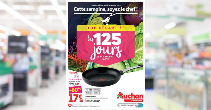 Catalogue Auchan Supermarché Du 3 Au 16 Octobre 2018