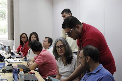 Geoquímicos da CPRM recebem treinamento sobre Aplicação do Geodatabase