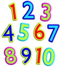 Angka 1 sampai 10 dalam berbagai bahasa (Prancis, Jerman ...