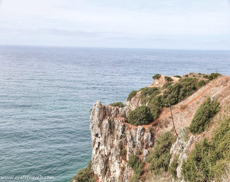 balkon Europy, Portugalia balkon Europy, klify w Portugalii, taras widokowy na ocean w Portugalii