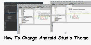 how to change android studio theme 1
