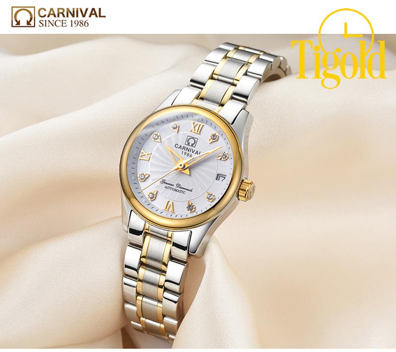 bán đồng hồ nữ carnival cao cấp