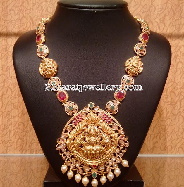 Lakshmi Necklace with Mango Clasps