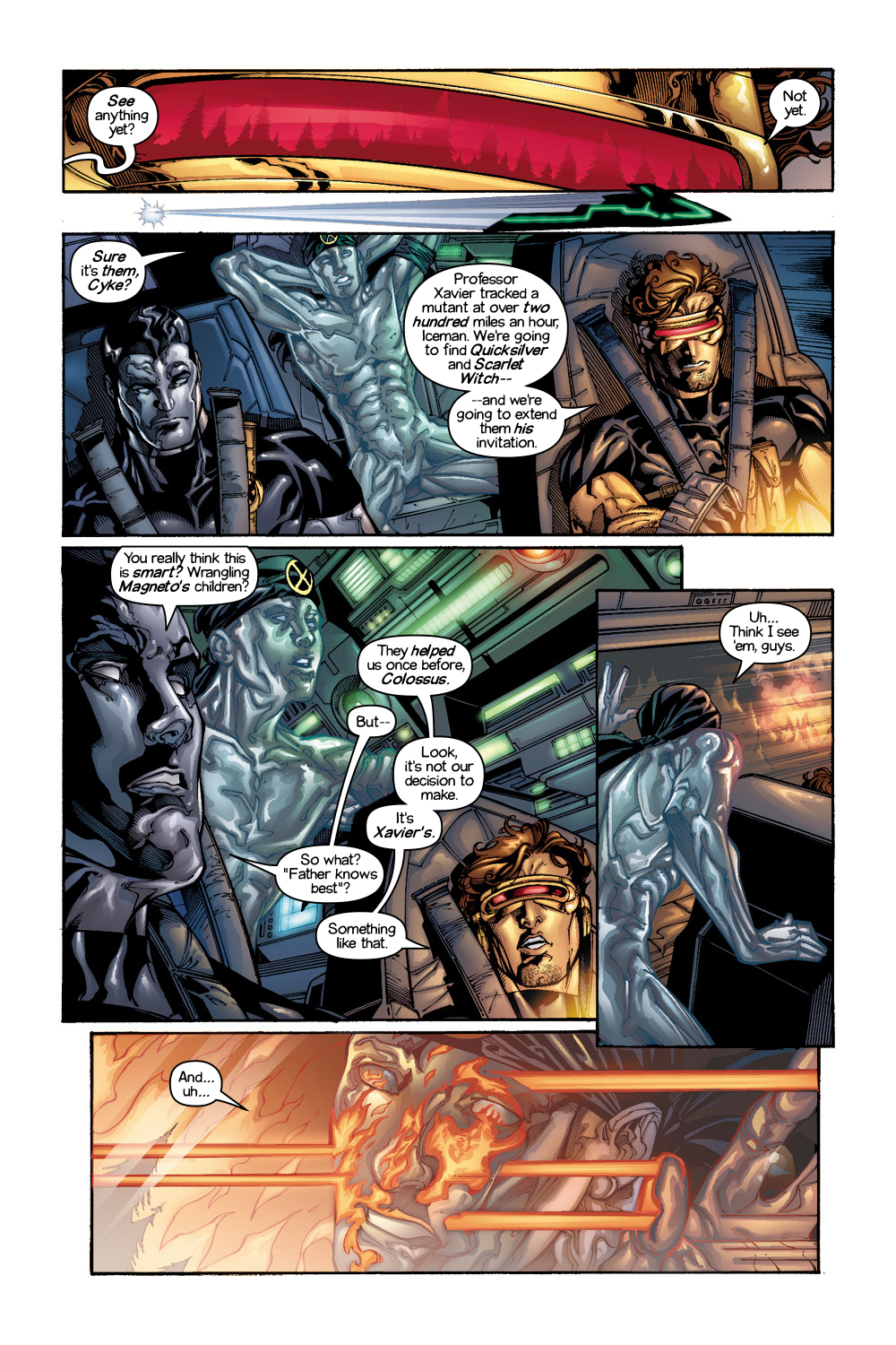 Read online Ultimate X-Men comic -  Issue #1/2 - 2