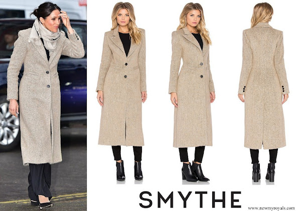Meghan Markle wears Smythe brando coat