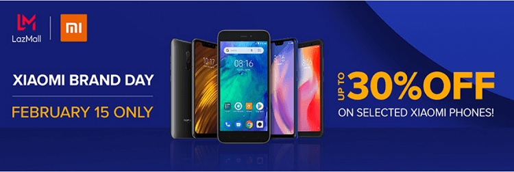 Xiaomi Brand Day Offers up to 30% Off on Lazada