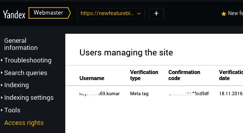 Now there will be open successfully verification page