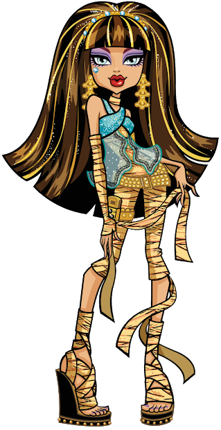 Todo Sobre Monster High Artworks De Clawdeen Cleo