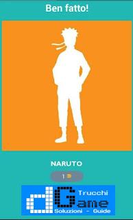 Soluzioni Quiz Naruto livello 1