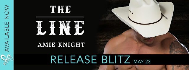 [New Release] THE LINE by Amie Knight @authoramieknight @jennw23 #UBReview